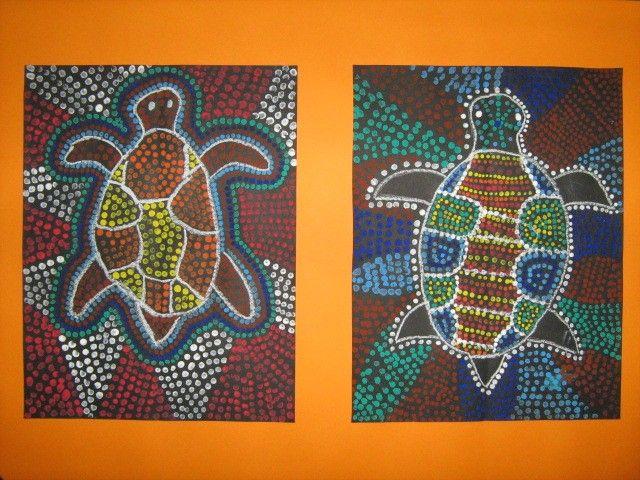 Ecole de Saint-Cergues - Art Aborigène