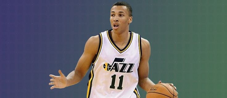 Where are Utah with the development of Dante Exum?