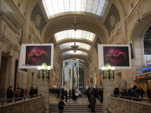 Our campaigns for Caractère & For.me in the Stazione Centrale di Milano.
