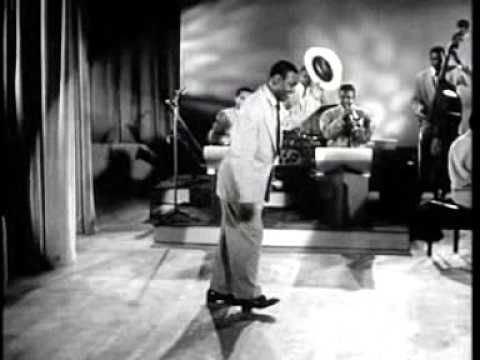 """The First Moonwalk - Bill Bailey - The Apollo Theatre - New York - 1955 - Bill Bailey tapping to a rather quiet instrumental version of the Larks' hit """"The World is Waiting for Sunrise"""" performed by the Paul Williams Quartet."""