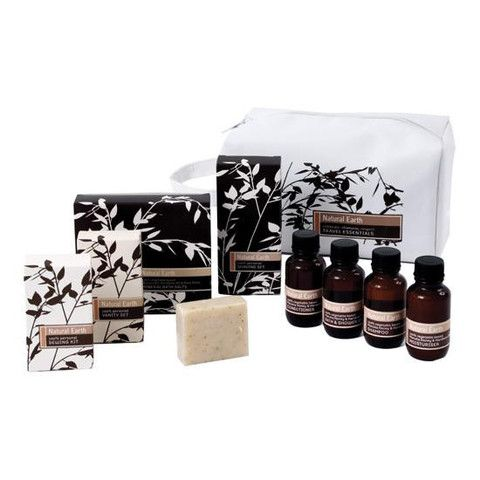 Natural Earth Luxury Travel Kit Natural Earth with active Manuka Honey naturally New Zealand made – www.themotelshop.co.nz