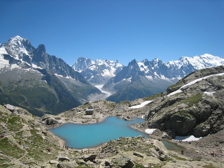 Lac Blanc, Haute-Savoie, Rhône-Alpes, France
