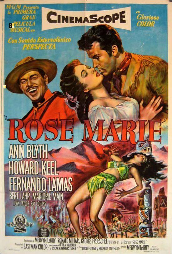 """Rose Marie"" (1954) ann blyth"