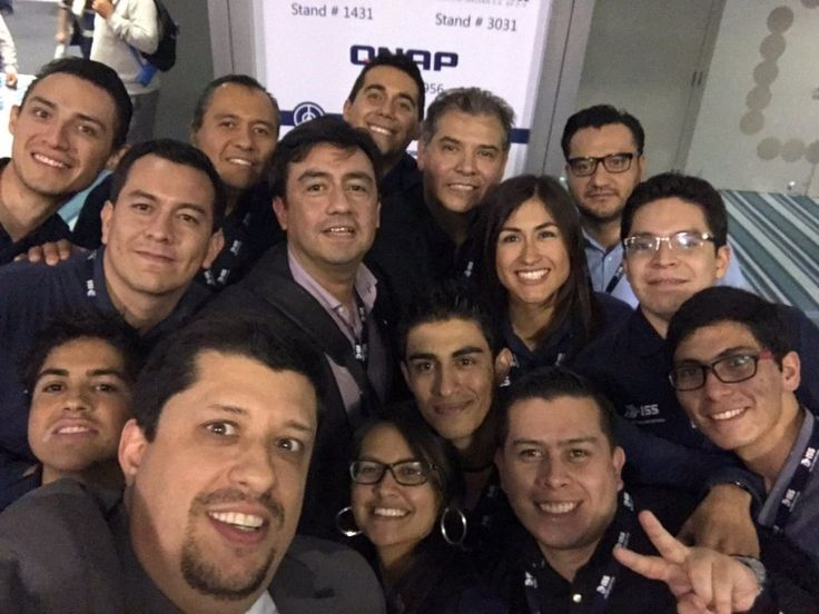 With offices across the globe, ISS is a leading provider of video intelligence surveillance, analytics and management. The ISS team gathered together at the Seguridad Mexico 2017 Expo for this 'on location' office selfie.