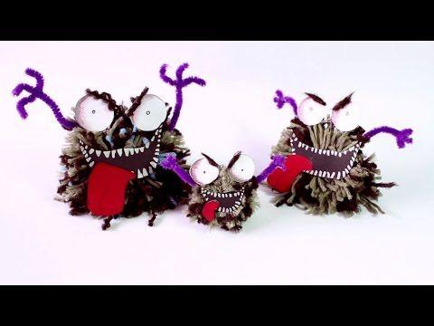 Kids Crafts: How to Make the Dreadful Fluff Pom Pom – Make Film Play