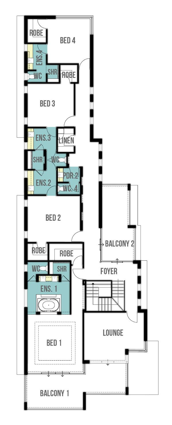 Undercroft Garage House Design First Floor Plan Architecture Pinterest House Plans The O