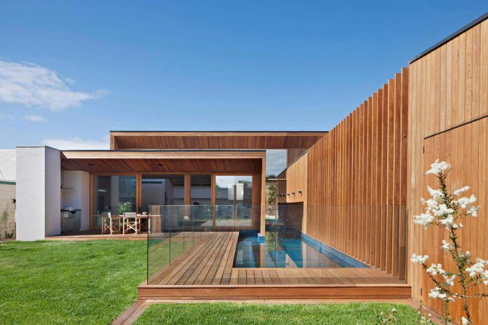 The Villa at Barwon Heads, an L-shaped breezy and spacious beachside retreat by Bower Architecture - CAANdesign | Architecture and home design blog