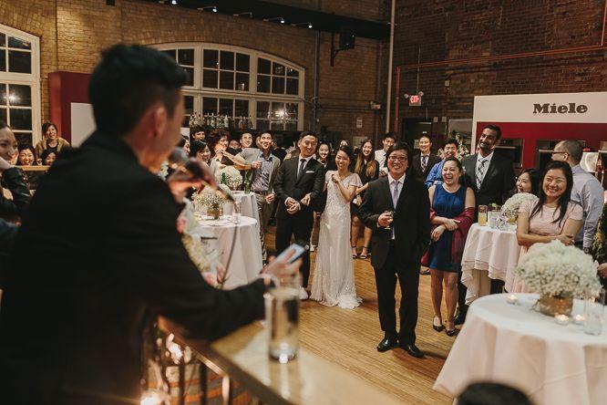 minimalist wedding ideas in torotno