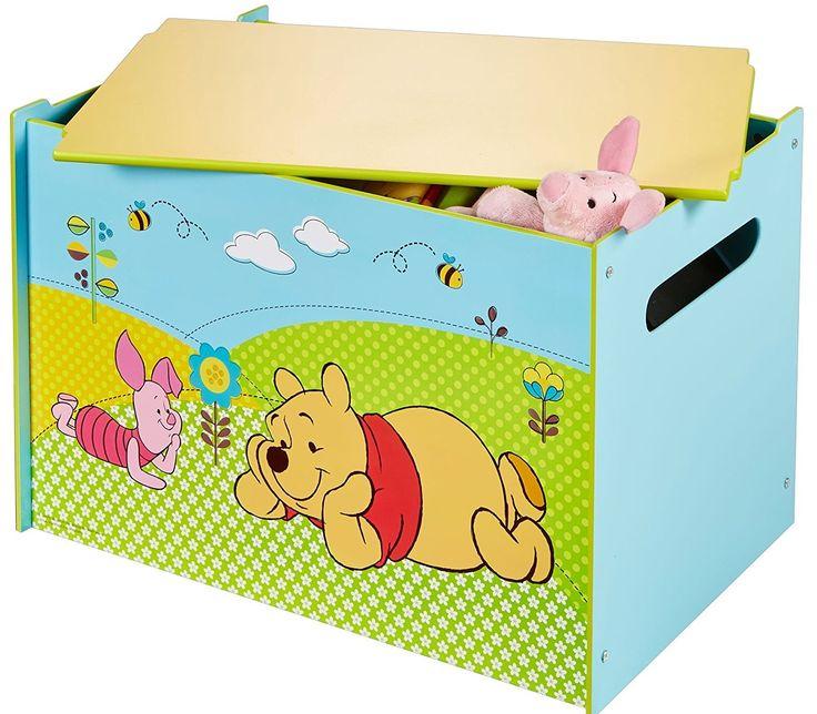 BAÚL DE WINNIE THE POOH, IndalChess.com Tienda de juguetes online y juegos de jardin