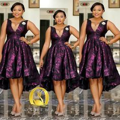 Classy Chief bridesmaid outfit~ African fashion, Ankara, kitenge, Kente, African prints, Braids, Asoebi, Gele, Nigerian wedding, Ghanaian fashion, African wedding ~DKK