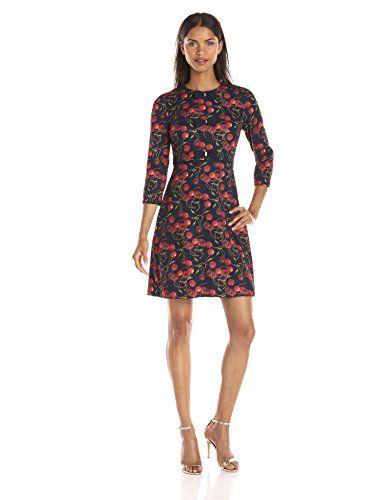 Ted Baker Women's Fyra Cheerful Cherry Bow Dress - http://darrenblogs.com/2015/11/ted-baker-womens-fyra-cheerful-cherry-bow-dress/