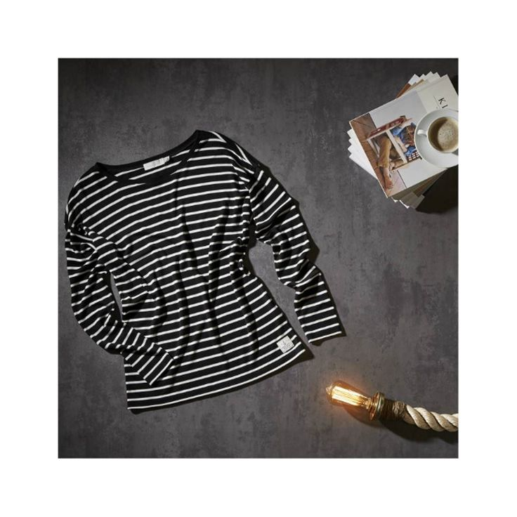 The Breanna Stripe Long Sleeve Tee is a wardrobe staple fashioned from a super soft lyocell yarn making the Breanna luxurious breathable and naturally crease resistant. Buy online now #linkinbio  #autumn #autumnfashion #style #fashion #stripes #flatlay