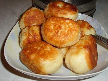 Пирожки с павидлом
