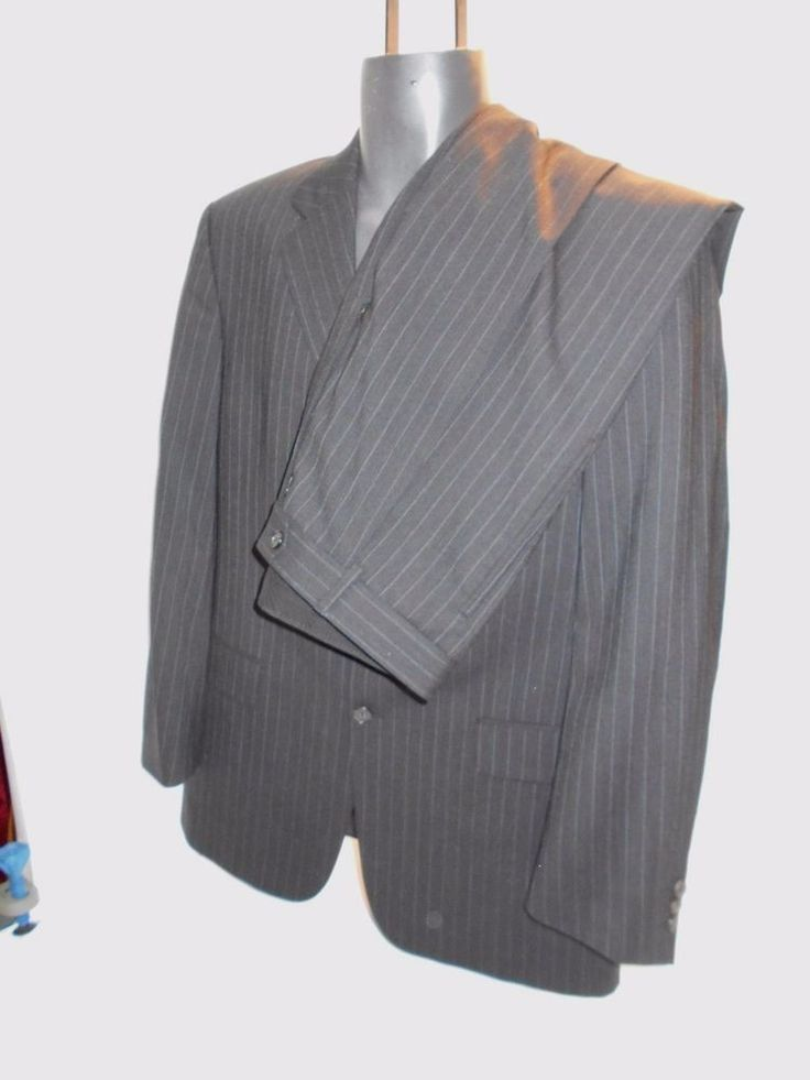 guys HUGO BOSS Office Suit / Blazer Sport Coat with pants Gross 50 MINT L Mens  #Oxxford #TwoButton