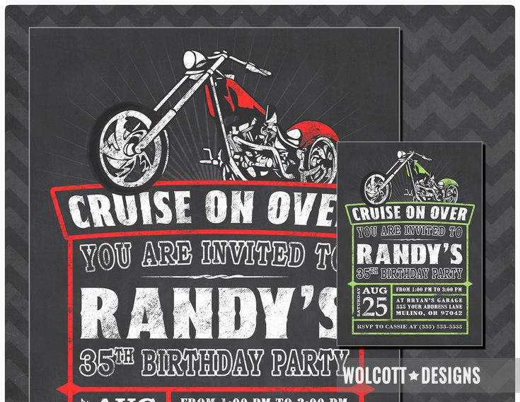 133 best birthday invitations images on pinterest motorcycle birthday invitation chopper invitation harley birthday invitations motorcycle invite harley davidson filmwisefo Image collections
