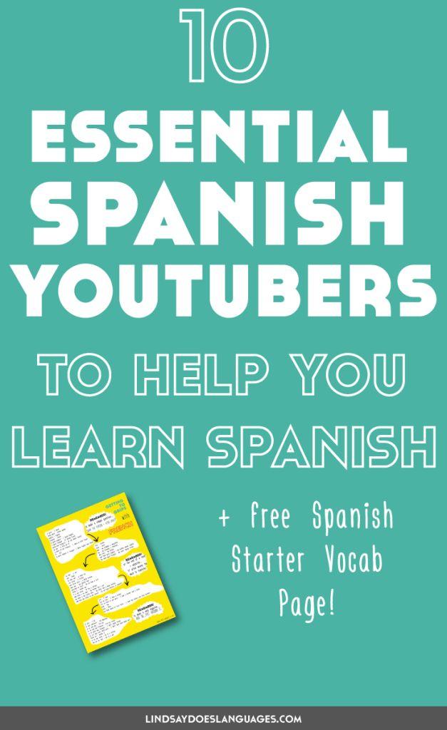 Learn Spanish - YouTube