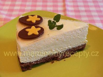 Moučník á la cheesecake