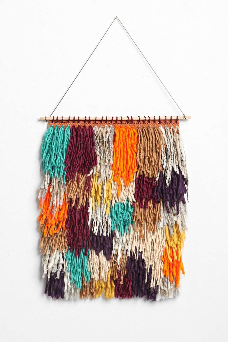Magical Thinking Shag Yarn Wall Hanging - Urban Outfitters