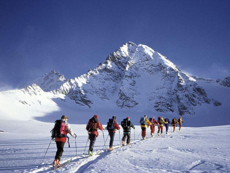 Kals am Grossglockner Backcountry skiing in a wonderful alpine world