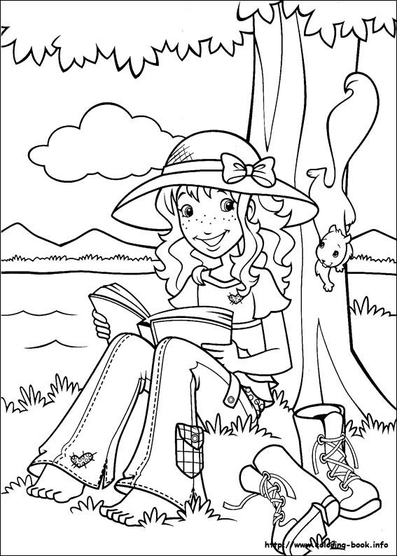 51 best holly hobbie and friends coloring pages images for Holly hobbie coloring pages
