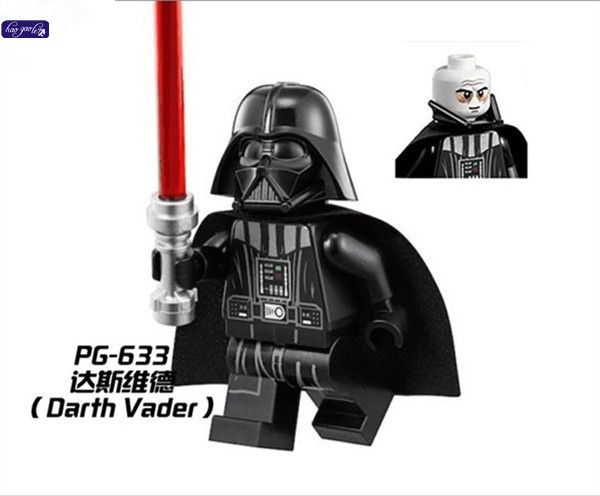 193.93$  Buy now - http://ali29o.shopchina.info/1/go.php?t=32809945924 - haogaole 300pcs PG633 Baby toys Darth Vader With Red Lightsaber Star Wars Building Block Gift Toys Compatible with   #buychinaproducts