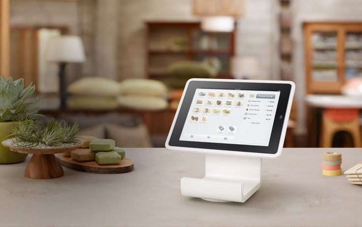 Hero-stand, turns your iPad into a complete point of sale.