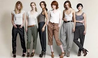 TREND FACTOR DEFINED: Harem pants: How to make them say 'sexy'!