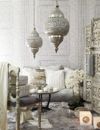 Styling a Gorgeous Moroccan Living Room