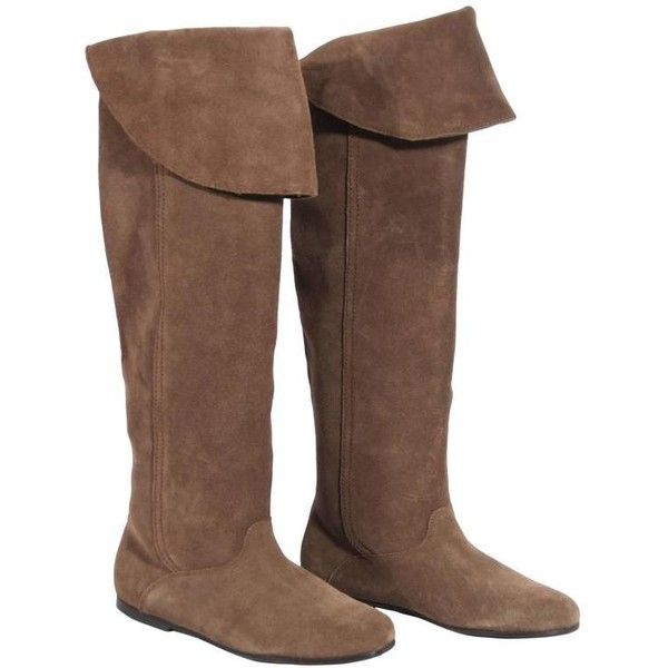 1000  ideas about Suede Flat Knee Boots on Pinterest   Thigh high