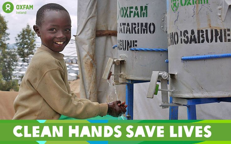 Today is Global Handwashing Day. Thanks to your support, we're working to prevent the spread of diseases by providing soap, water points and hygiene promotion to vulnerable communities. http://www.oxfamireland.org/
