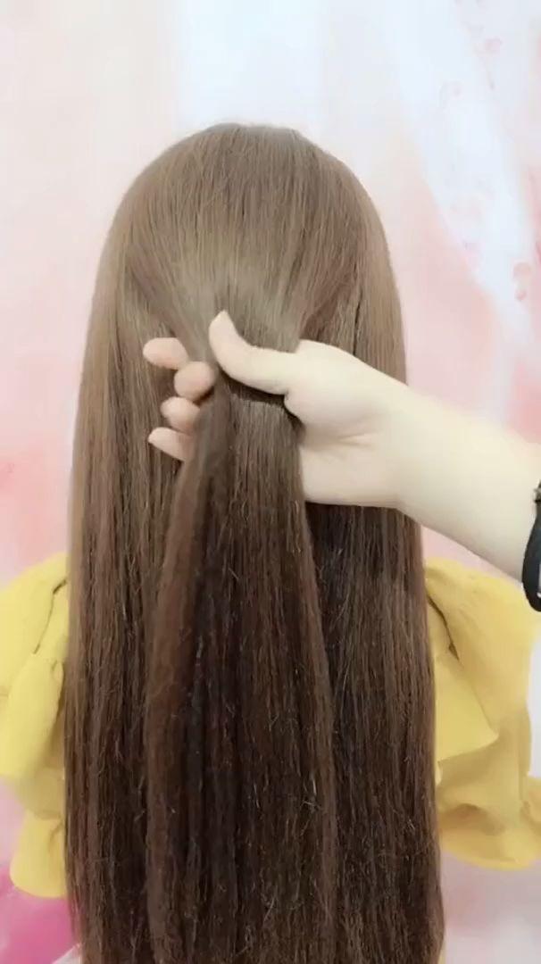 frisuren für lange haare videos | Frisuren Tutorials Zusammenstellung 2019 | Teil 304
