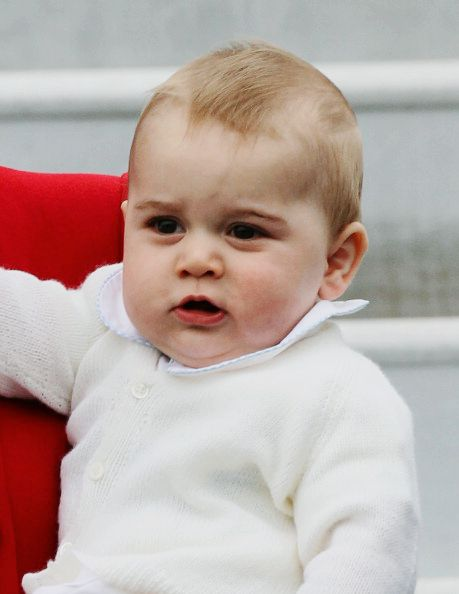 Prince George of Cambridge in New Zealand, April 2014 #princegeorge