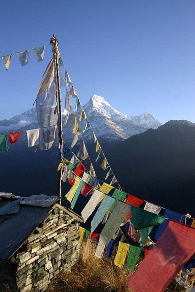 Les plus beaux sommets du monde: L'Annapurna, au Népal Surnommée le « toit du monde », la chaîne montagneuse de l'Himalaya rassemble les sommets les plus hauts de la planète. Parmi eux, l'Annapurna, au Népal, est particulièrement spectaculaire.