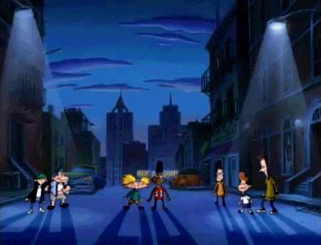 Fue la primera caricatura de Nickelodeon que usó niños...