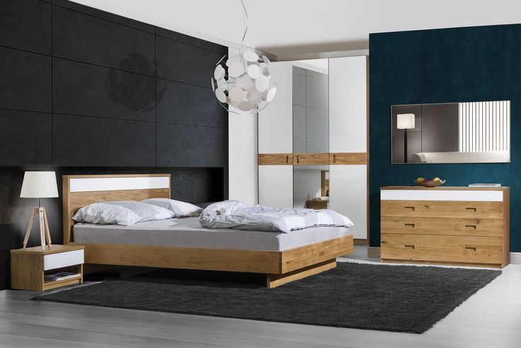 Neutral colour, wooden furniture - Venice bedroom. Ideas for bedroom. Designed by Klose #bedroom #woodenfurniture #KloseFurniture #bed #goodnight