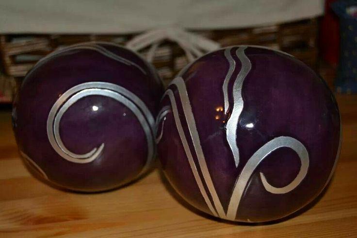 Royal Purple w Silver gilt