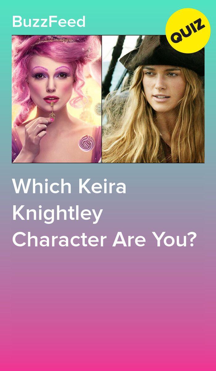 Which Keira Knightley Character Are You Keira Knightley Elizabeth Swann Elizabeth Bennet