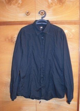 Kup mój przedmiot na #vintedpl http://www.vinted.pl/damska-odziez/koszule/13750284-czarna-koszula-hm