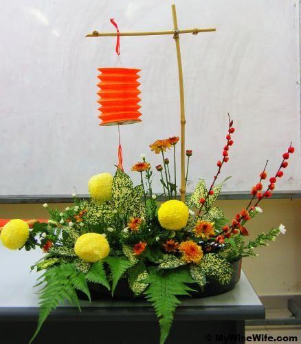 chinese flower arrangement - photo #28