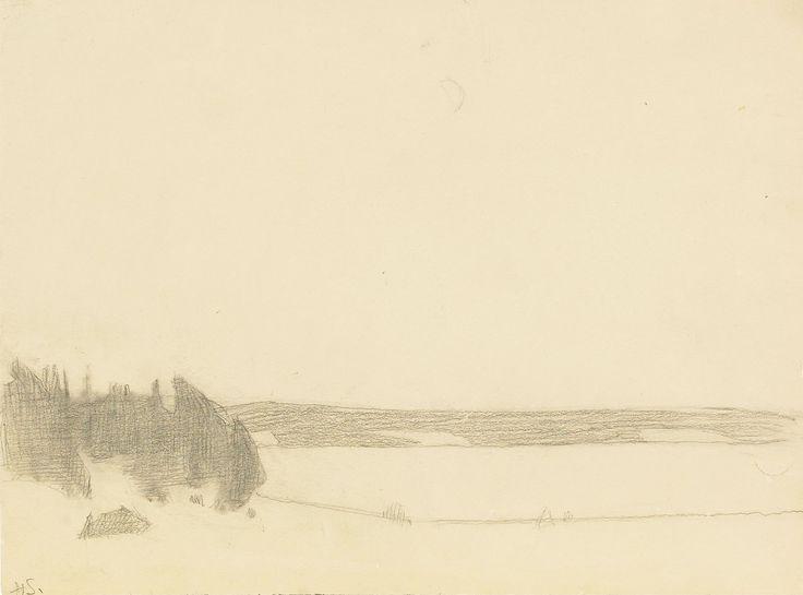 Schjerfbeck, Månsken Tenala, 1940