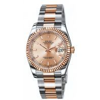 Rolex Oyster Perpetual Datejust Rolesor Everose 116231 Rolex Oyster Perpetual Datejust Rolesor Everose
