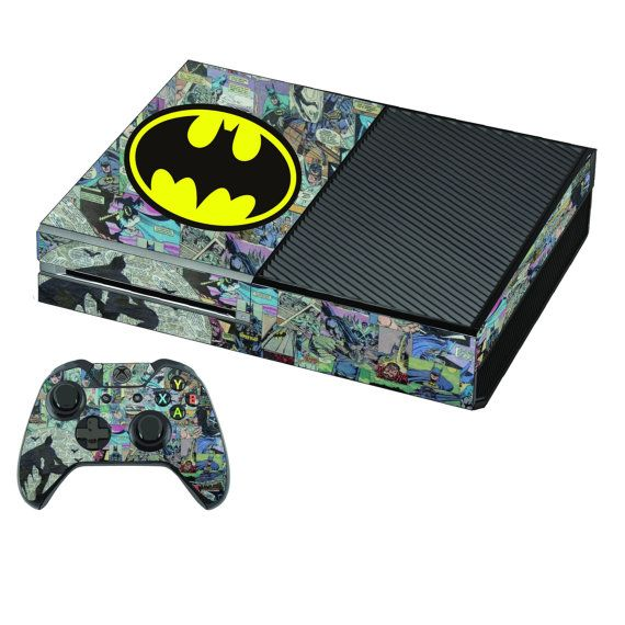 Xbox one Console Sticker Skin  2 Free wireless by PS4Skins on Etsy