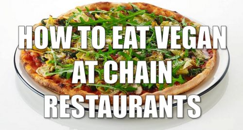 How to eat vegan at chain restaurants, including Wetherspoons, Subway, Starbucks Giraffe, Toby Carvery, Wagamama, Nando's etc. From Peta UK.