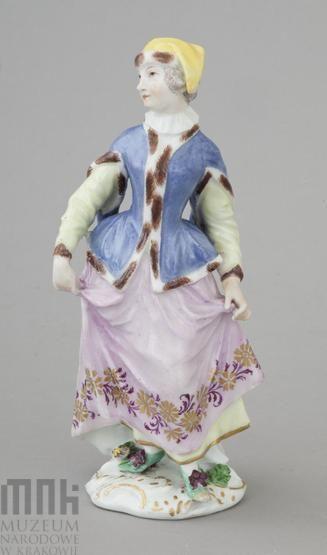 Figurka - Szlachcianka, około 1750