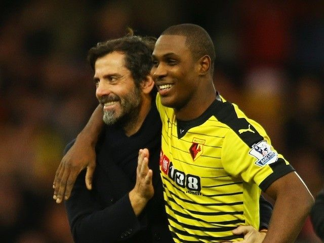 Odion Ighalo happy to stay at Watford after Quique Flores exit