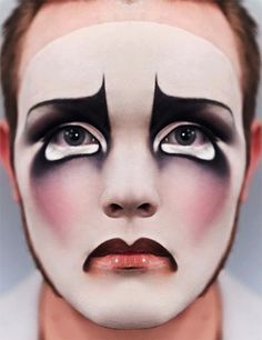 sad clown makeup - Google Search
