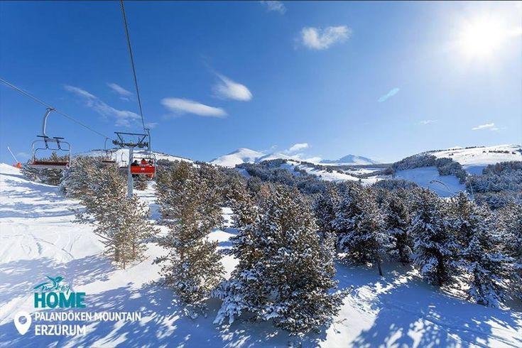 Звичайно, в Ерзурумі є дуже багато трас, сертифікованих Міжнародною федерацією гірськолижного спорту, але по-справжньому чудовими цей регіон роблять зимові краєвиди Паландокена.  #Turkey #Homeof #Palandöken