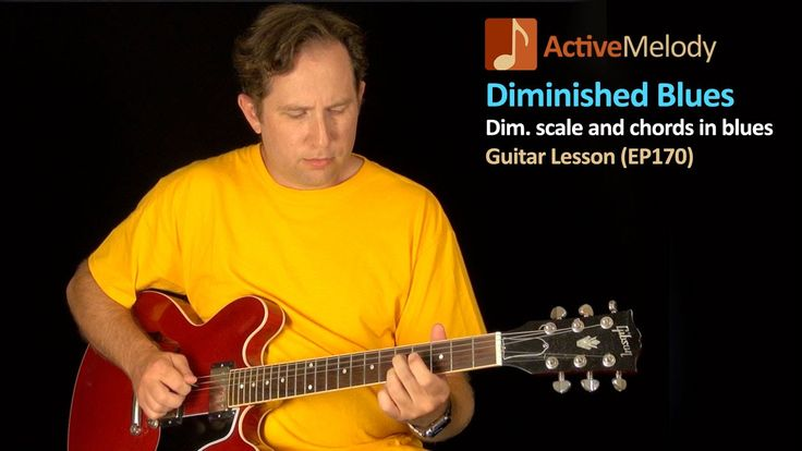 Blues Guitar Lesson - How To Use a Diminished Scale / Chord in a 12 Bar ...