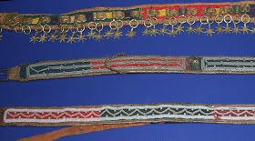 *The Saami - Samisk - Sámi*: Saami metal embroidery, belts, purses and bone ornament decor - Samisk metalltrådsbroderi, belter, vesker og beindekorasjoner