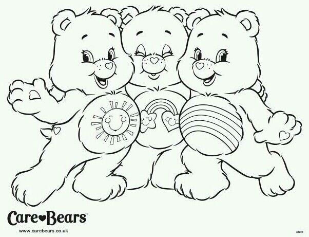 best care bear coloring pages - photo#17